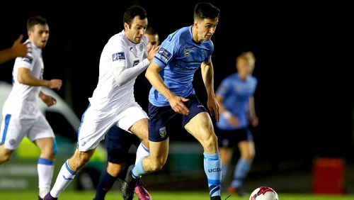 UCD's Neil Farrugia would have caught the eye of Ireland Under-21 manager Stephen Kenny who was in attendance