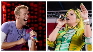 Chris Martin helped Lily Allen to through a hard time