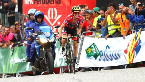 Yates will take a lead of one minute 46 seconds into Sunday's final processional stage to Madrid.