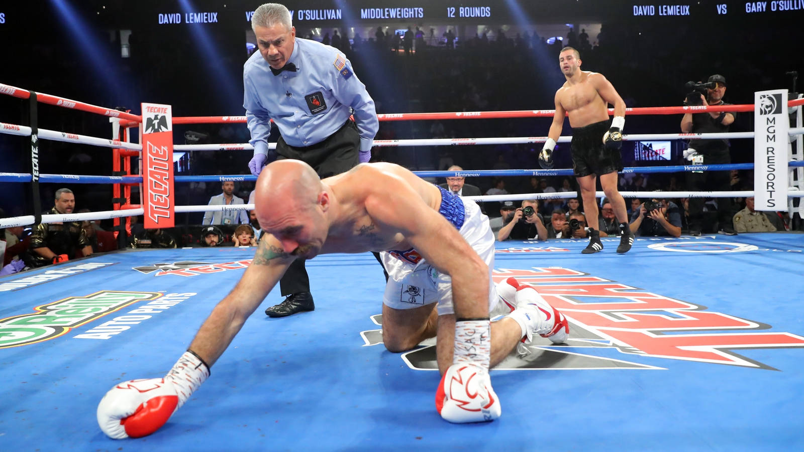 Spike O & Sullivan stopped in Lemieux in Las Vegas in the first round