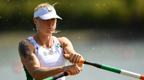 Sanita Puspure needs a top-none finish at the Worlds to make the Tokyo Games