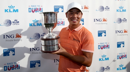 Chinese golfer Wu Ashun becomes first Asian to win KLM Open