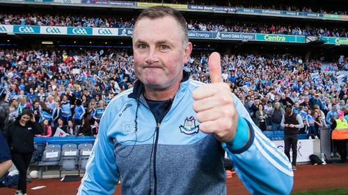 Mick Bohan gives the thumbs up after the win
