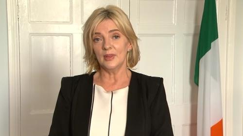Liadh Ní Riada accepted the nomination at Sinn Féin's Ard Comhairle in Dublin