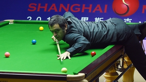 Ronnie O'Sullivan is through to the last four