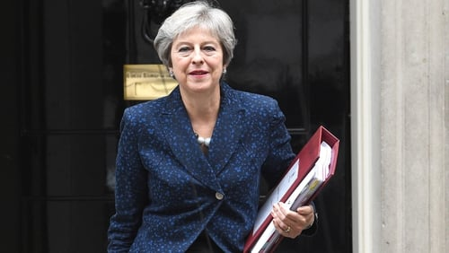 Theresa May said the alternative to rebel counter-proposals is no deal