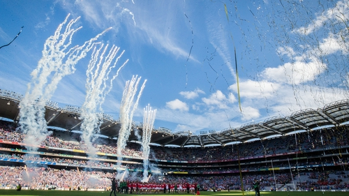 A huge crowd turned out for Dublin-Cork at Croke Park