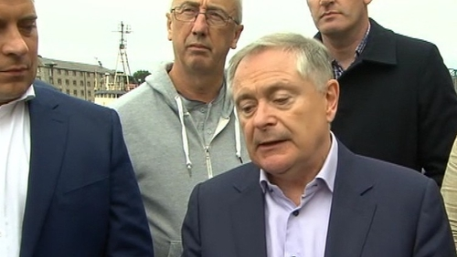 Labour leader Brendan Howlin said the discussion was a 'very uniting experience'