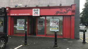 The raid took place at the Bar One Racing betting office in Glanmire on Saturday evening