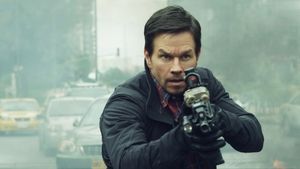 Mark Wahlberg heads up this slightly silly, ultra-violent action thriller