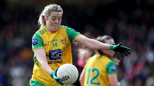 Yvonne Bonner has been nominated for an All-Star following another excellent season for Donegal