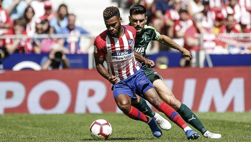 Thomas Lemar moved to Atletico Madrid early in the summer
