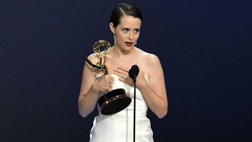 Actress Claire Foy: recent recipient of an Emmy