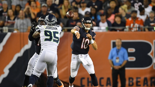 Bears are at the mercy of Mitch Trubisky's 'happy feet'