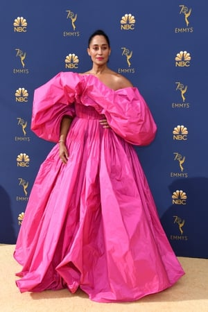 Tracee Ellis Ross dared to be different with Valentino in 2018.
