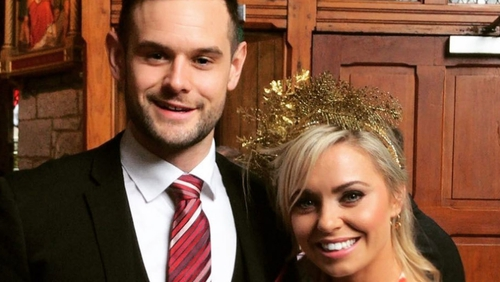 Anna Geary reveals she is engaged to partner Kevin Sexton, image via Anna Geary/Instagram