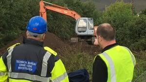 Members of the Garda Technical Bureau at the site near Boolteens