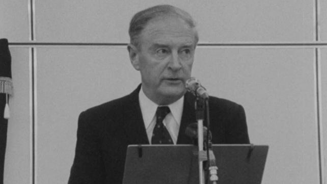 Taoiseach Liam Cosgrave (1973)