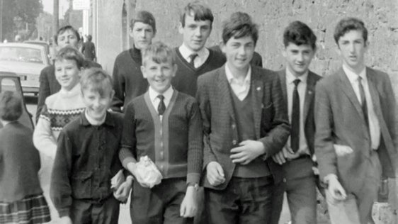 Boys of St Grennans National School, Ballinasloe, Galway
