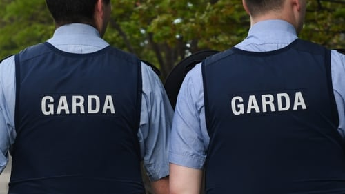 Gardaí are investigating the raid at the house in Malin