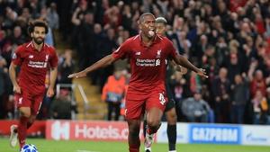 Daniel Sturridge's emphatic header put Liverpool on their way