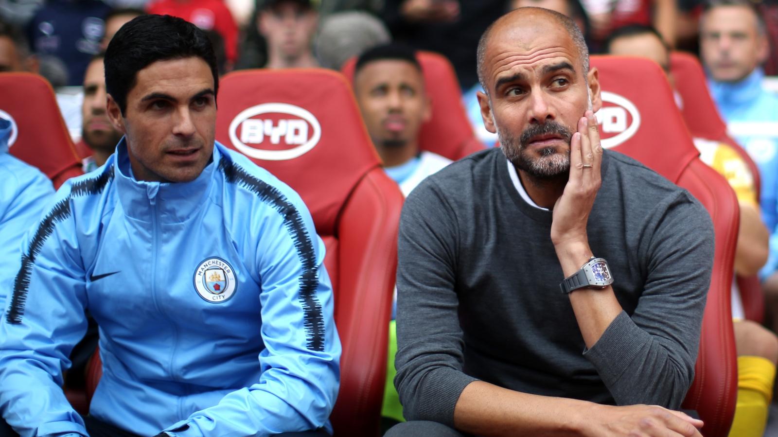 Arteta staying with City this season - Guardiola