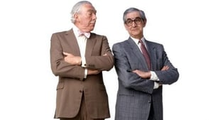 Denis Norden (right) with his comic partner Frank Muir