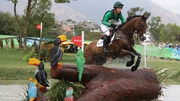 Padraig McCarthy was a double silver medallist at the World Equestrian Games