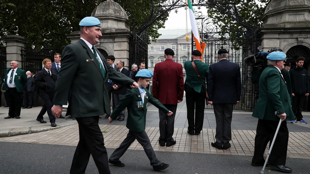 Defence Forces calling for 'respect and loyalty'