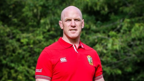 Paul O'Connell captained the British and Irish Lions