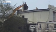 RTÉ News: Quick-thinking locals secure roof in Galway