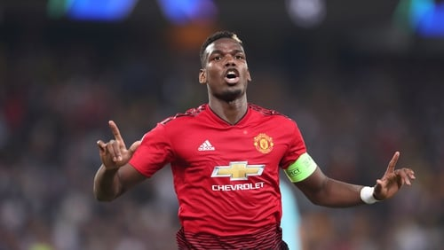 EPL: Mourinho blames Pogba for Man United's 1-1 with Wolves