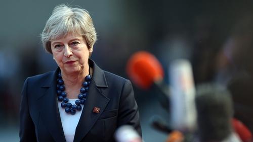 Theresa May in Salzburg
