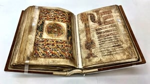 The Book of Durrow is one of the earliest surviving decorated Gospel books in western Europe