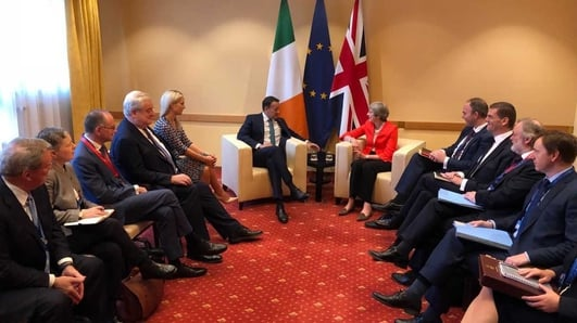 Still no prospect of border deal as Taoiseach Leo Varadakar meets British Prime Minister Theresa May at Salzburg Summit