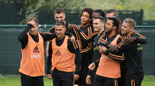 Belgium are now top of the rankings along with France