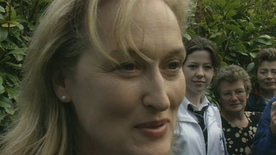 Meryl Streep Visits Glenties in County Donegal (1998)