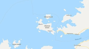 The ferry capsized near Ukora island close to the dock (Pic: Google Maps)
