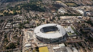 A contractor firm has denied reports that workers on Tottenham's stadium project were 'under the influence of drink and drugs'