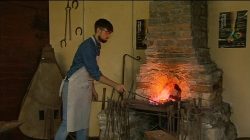 Conor Murray's forge is situated close to the old forge used by his great great grandfather who was a blacksmith two centuries ago