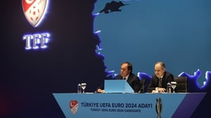 UEFA's evaluation report raised concerns over Turkey's 'human rights record'