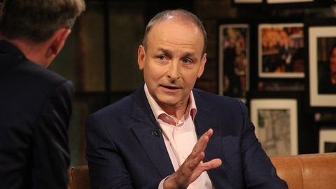 Micheál Martin | The Late Late Show