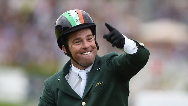 Showjumper Cian O'Connor was stripped of his Olympic gold medal