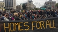 Sit-down protest in city centre over housing shortage