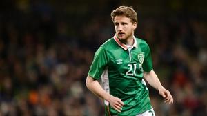 Eunan O'Kane intent on returning stronger after suffering a double leg break last week
