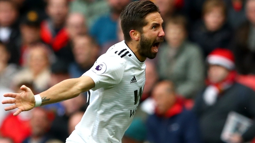 Joao Moutinho curled home a fine leveller at Old Trafford