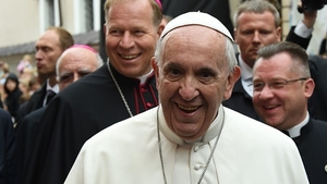 Pope Francis has begun a four-day visit to the Baltic region