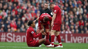 According to his international manager, Van Dijk had suffered two broken ribs