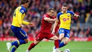Xherdan Shaqiri had a big game for Liverpool