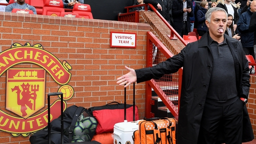 """Jose Mourinho says his players forgot the """"basic law of football"""""""